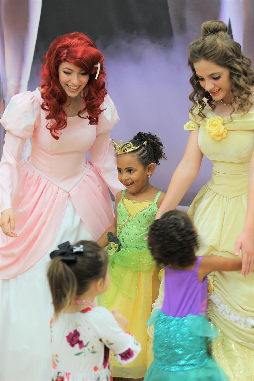 Ariel, Belle, Mermaid Princess, Princess Beauty