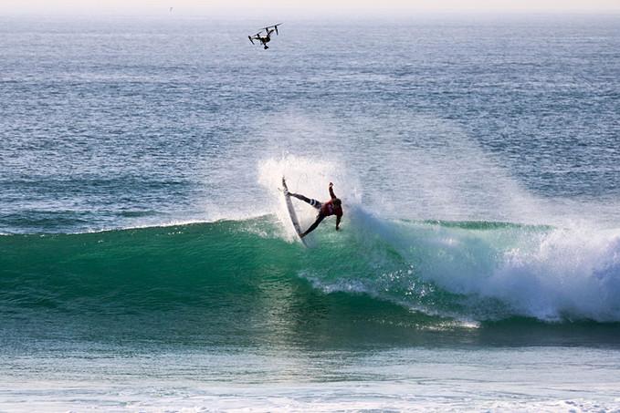 John John Florence Surfing Hossegor