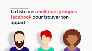 Les meilleurs groupes Facebook pour louer un appartement en France