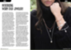 Magazine Article, Hand made jewellery, designer interview