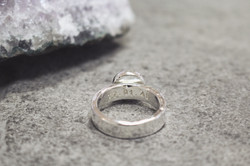 Initial Ring with text on the inside