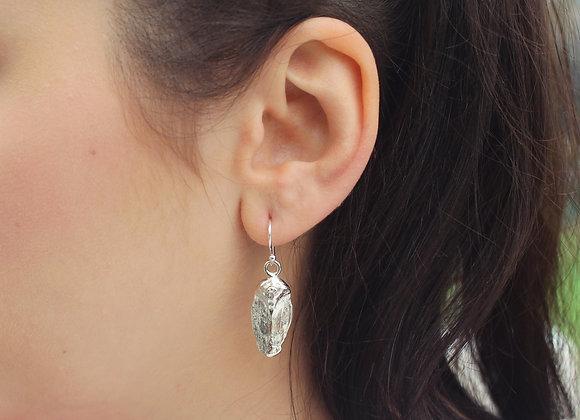 Seed Scale Drop Earrings