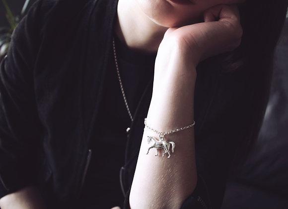 Horse Chain Bracelet