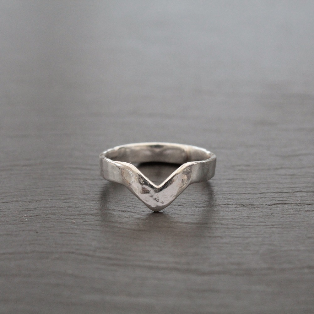 Adjustable Wishbone Ring