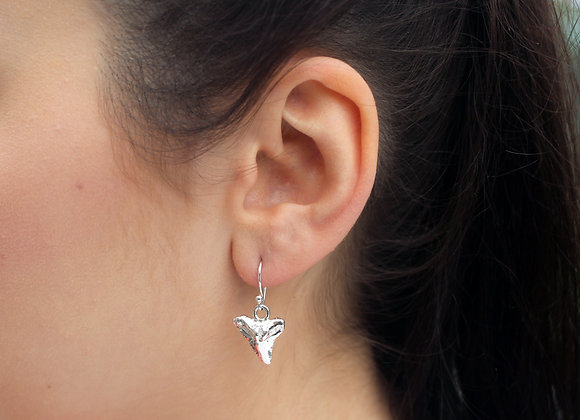 Shark Tooth Drop Earrings