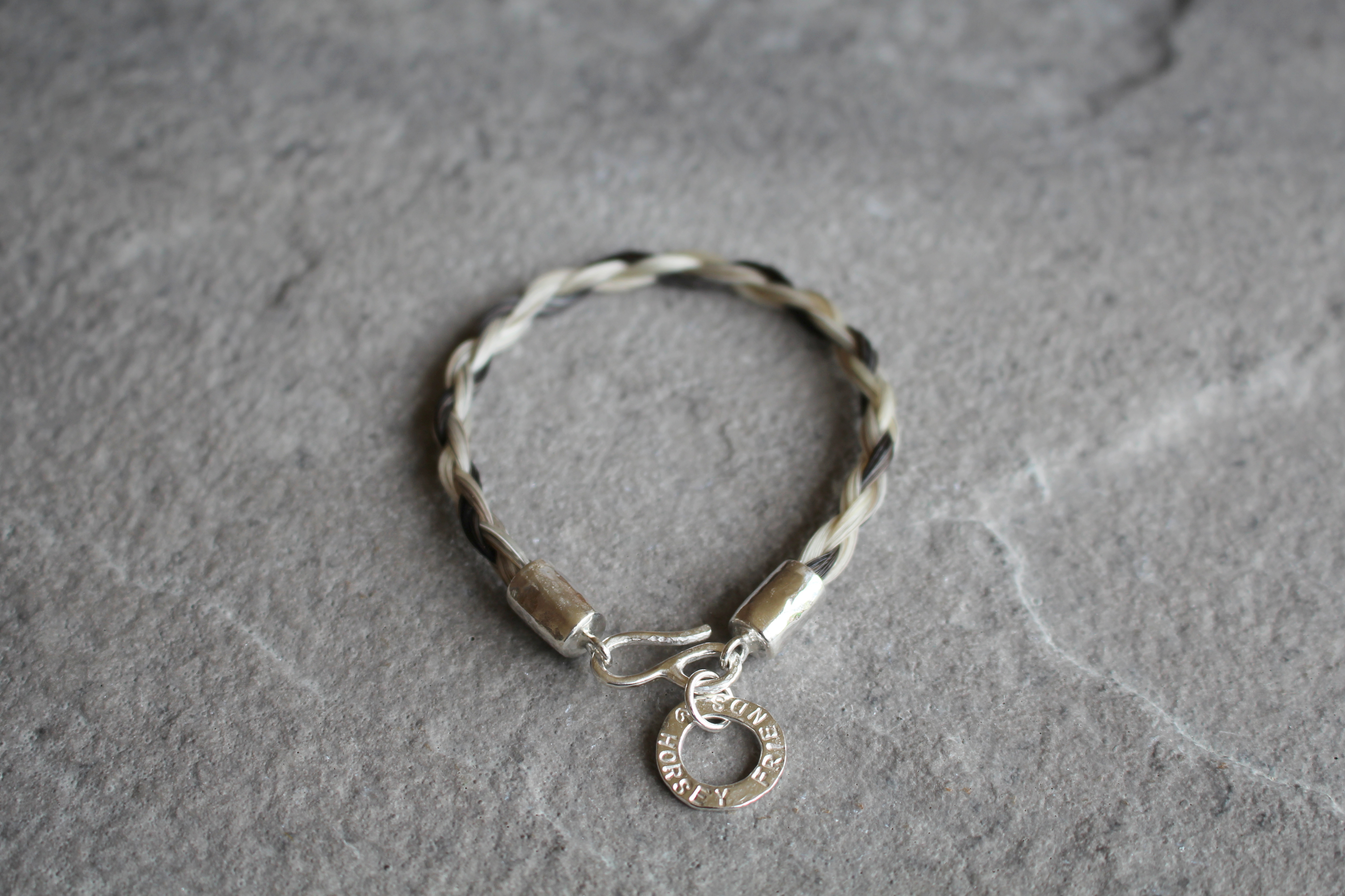Horse Hair Personalised Bracelet