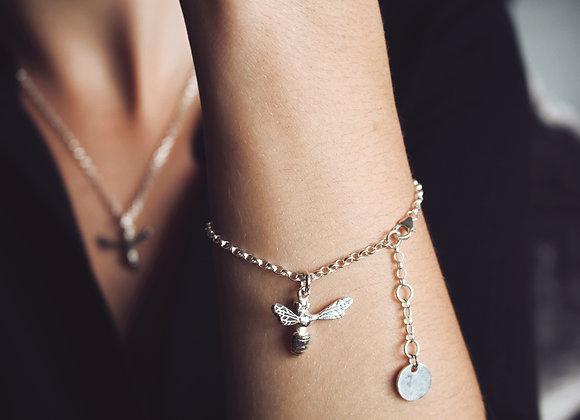 Honey Bee Chain Bracelet