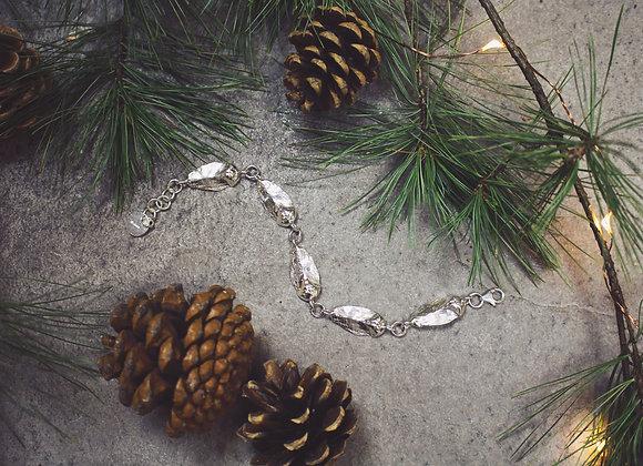 Five Charm Seed Scale Bracelet