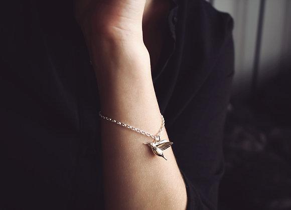 Hummingbird Chain Bracelet