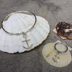 Anchor Bangle and Ring