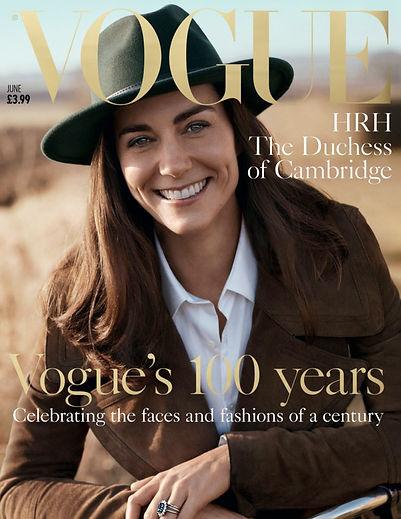HRH, Vogue cover, Vogue 2016, hand made jewellery
