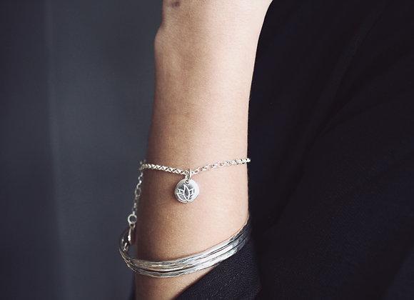 Lotus Flower Chain Bracelet