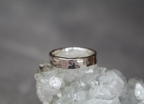 Hammered Band Ring