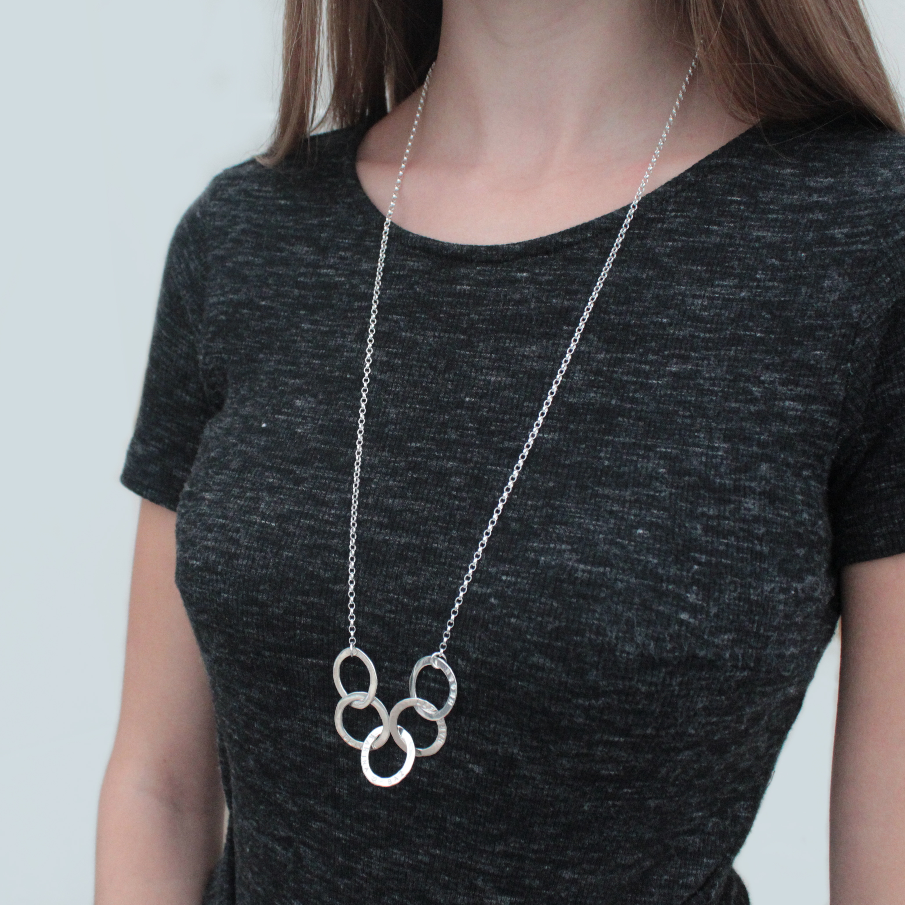 Five Disc Necklace
