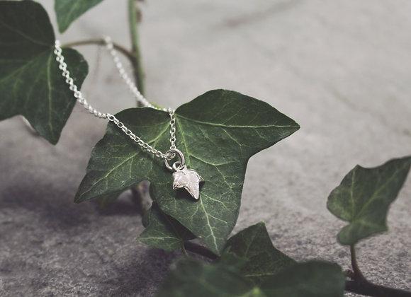 Mini Ivy Leaf Necklace