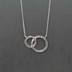 Double Cricle Necklace