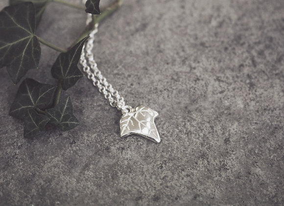 Ivy Leaf Necklace