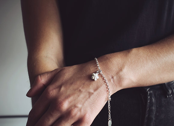 Forget Me Not Chain Bracelet
