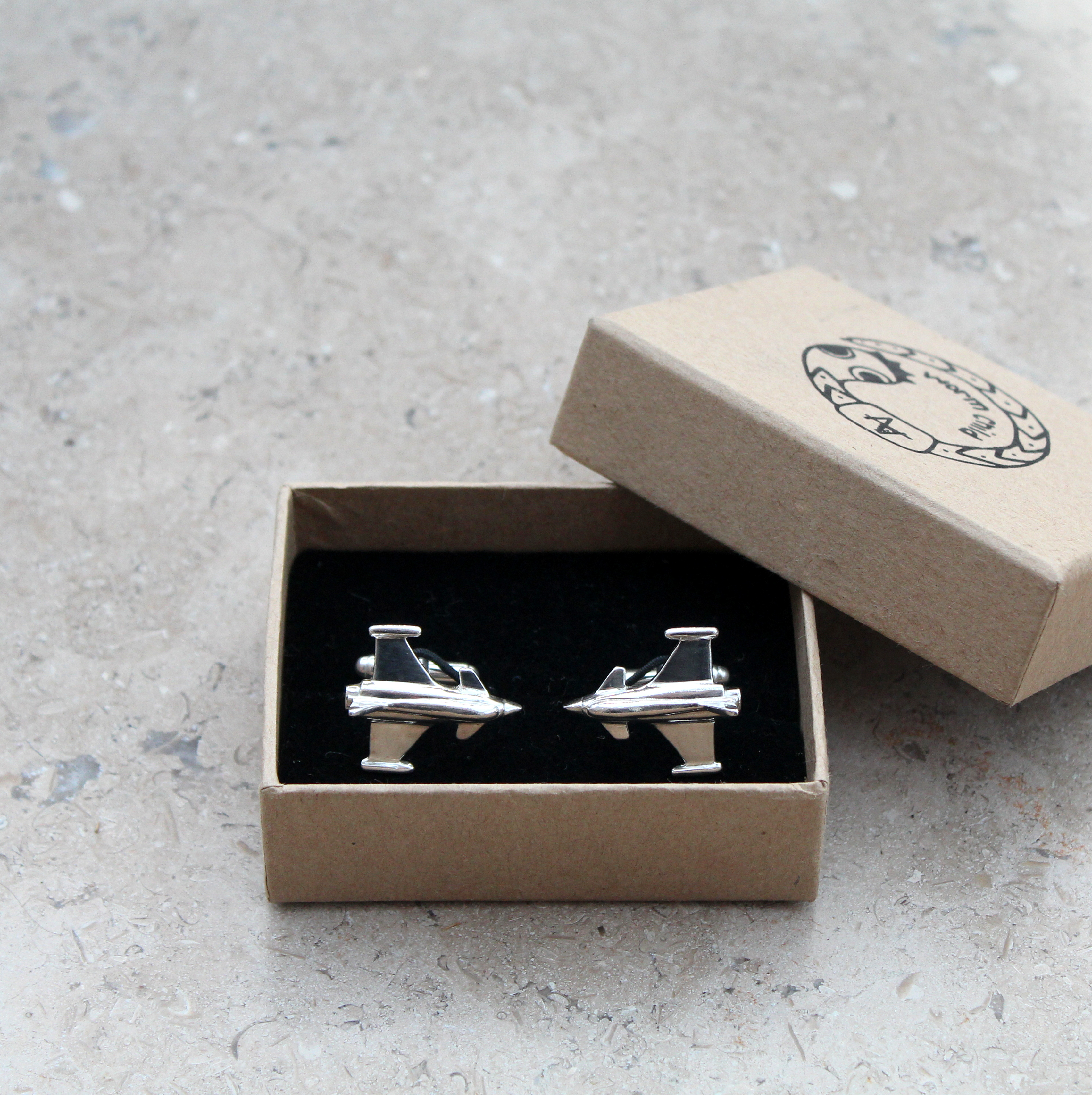 Typhoon Plane Cufflinks