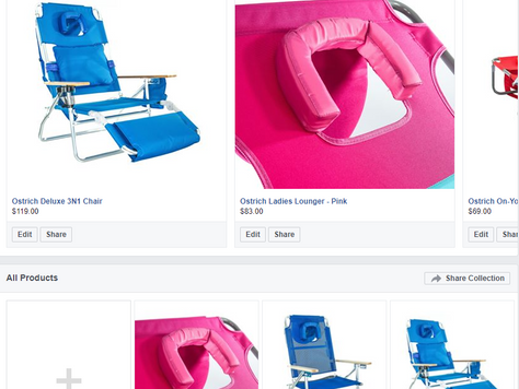 Selling Products on Facebook