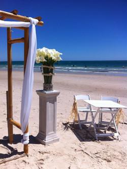 west beach wedding