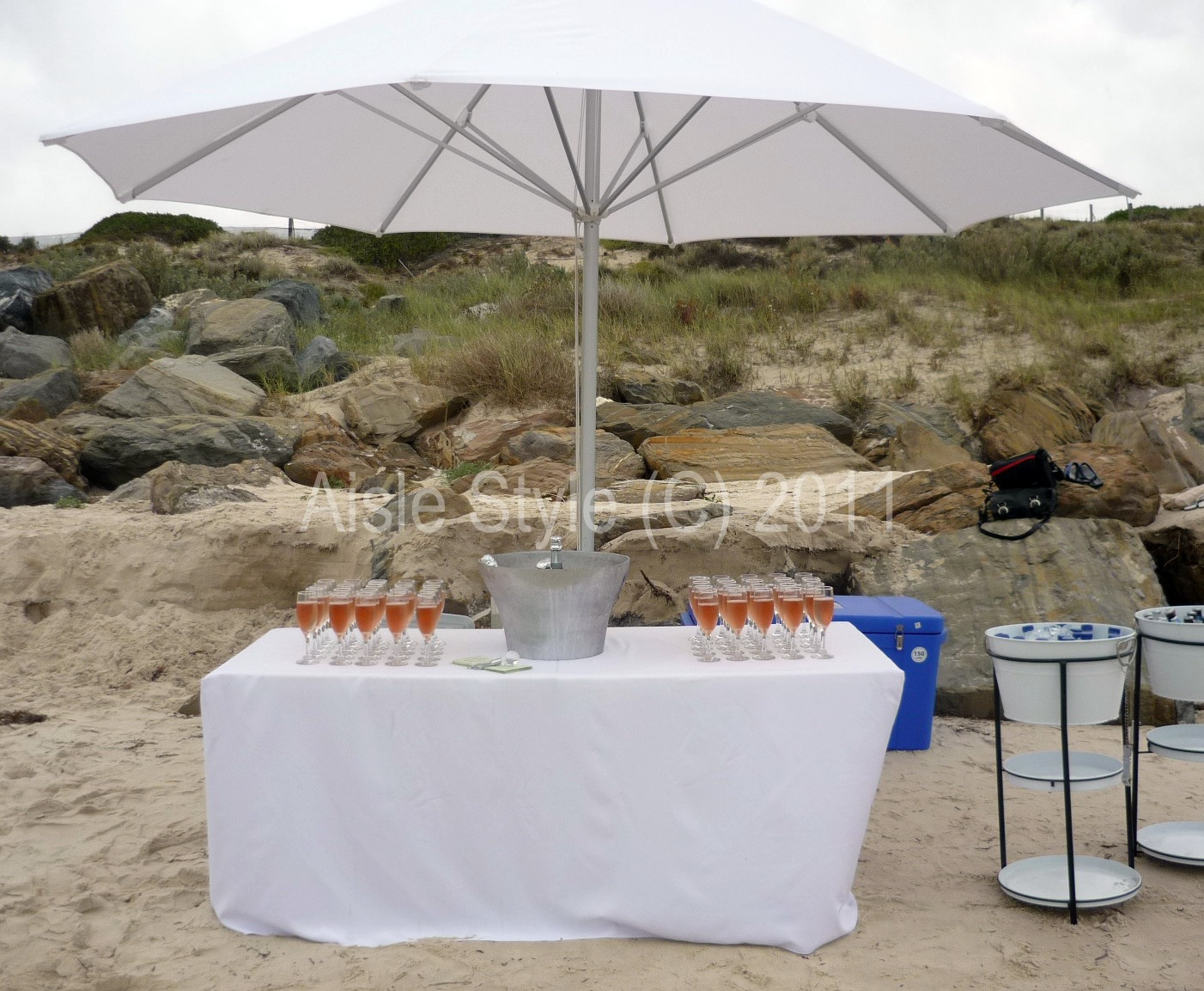 Beach Wedding Refreshment