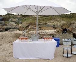 Beach Wedding Refreshment