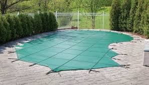 Photo of pool safety cover