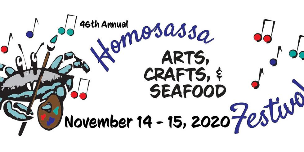 Homosassa Arts, Crafts, & Seafood Festival