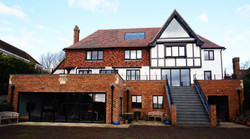 Multiple Extensions and loft conversion on large Brighton house