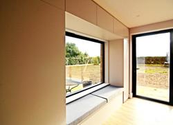 Window seat with storage