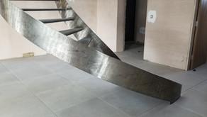 Surrey Hills house garage and stairs progress
