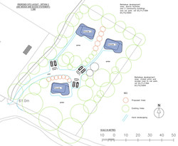 meadow house site layout study