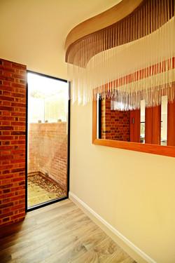 Light well form hallway