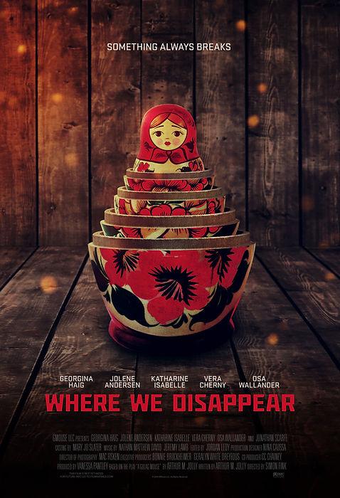 Where We Disappear Postr