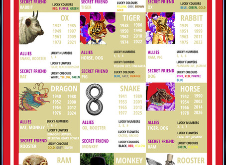 Chinese Zodiac - What Animal are You?