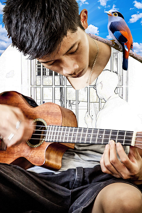 Boy with the Guitar