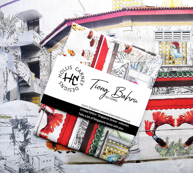 Tiong Bahru Tea Towel