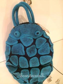 """Smal bag """"Blue Rocks"""""""