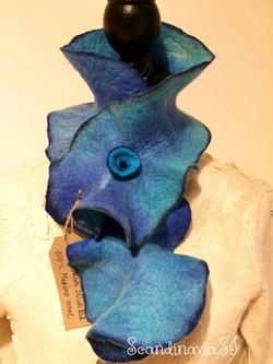 "Scarf ""Multi Blue"""