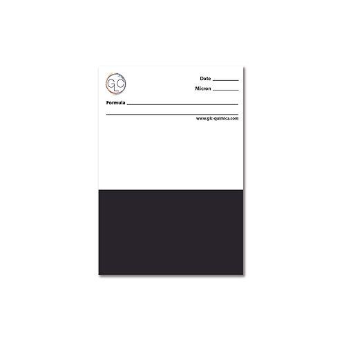 Carta de aplicação - Brilho (10,5x15cm)