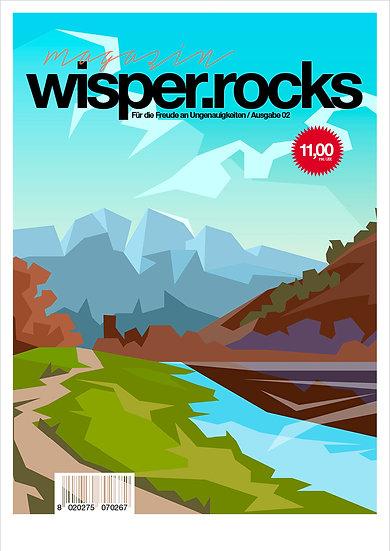 magazin wisper.rocks #zwei