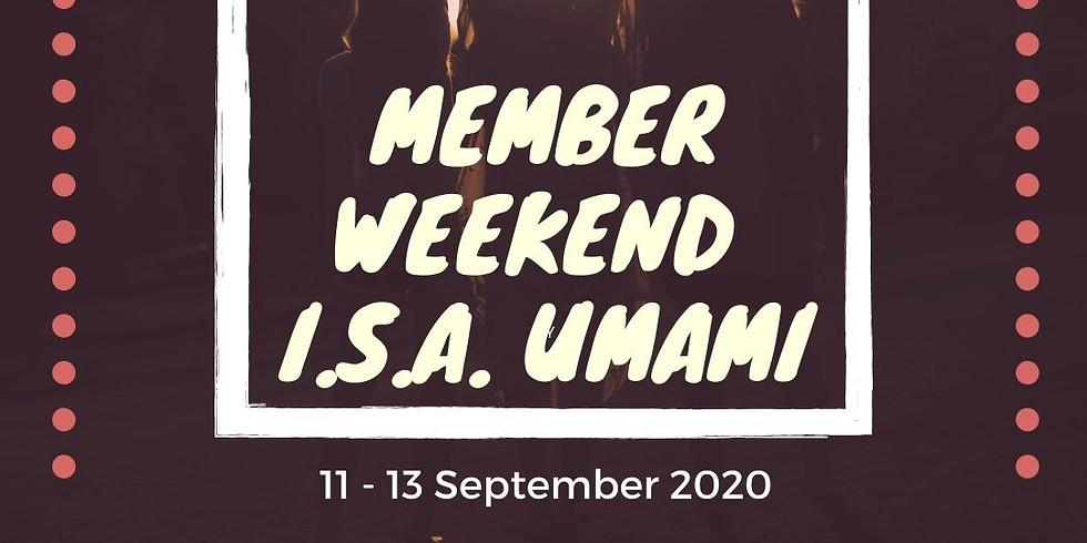 Member Weekend 2020