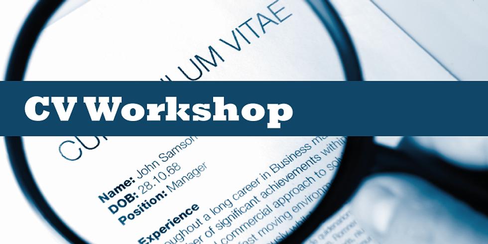 CV & Letter Application Workshop