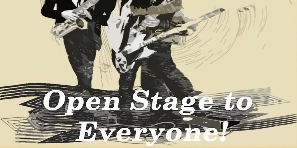 Jam session: Open stage to everyone!