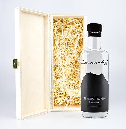 Traunstein-Gin mit Kiste