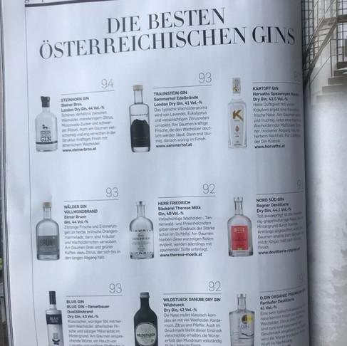 Traunstein-Gin überzeugt Falstaff Jury