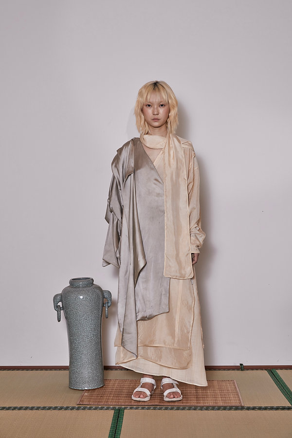 LOOK 2. YIN YANG clothing (natural dyes
