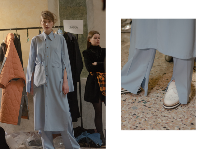 Ujoh FW19 Backstage