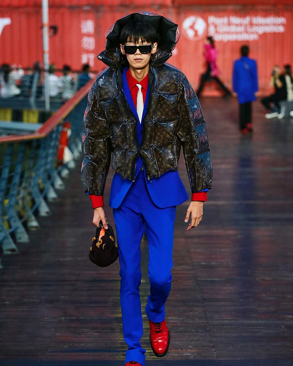 Louis Vuitton Menswear SS2021 papmagazin